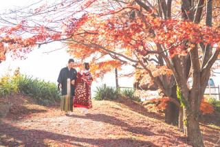 341582_群馬_和装紅葉とスタジオドレス