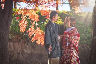 341576_群馬_和装紅葉とスタジオドレス