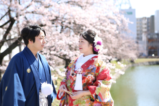 250657_長野_和装×桜