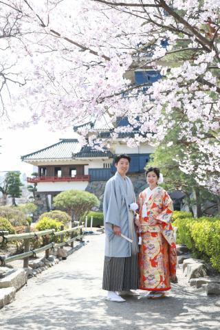 333952_長野_和装×桜