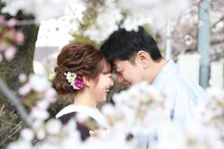 192521_長野_和装×桜