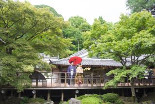 192703_京都_<和装フォト>邸宅&庭園 --紫水苑--