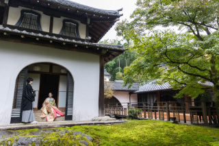 310390_京都_<和装フォト>邸宅&庭園 --紫水苑--