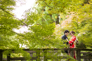 192712_京都_<和装フォト>邸宅&庭園 --紫水苑--