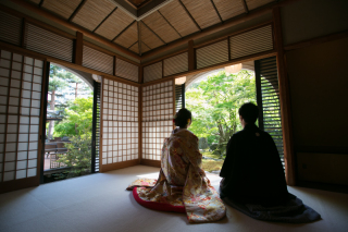 192713_京都_<和装フォト>邸宅&庭園 --紫水苑--