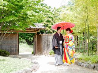 253215_群馬_日本庭園 和装