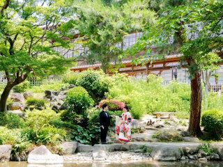222551_群馬_日本庭園 和装