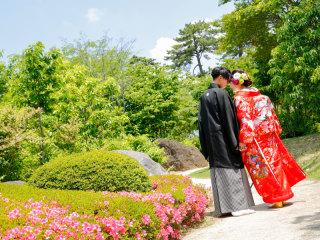 253214_群馬_日本庭園 和装