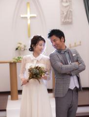224579_石川_ドレスならチャペル♪館内の撮影もバリエーション豊富♪ドレスフォト