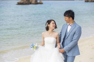 250372_沖縄_キラキラ輝く海☆青い空フォトウェディング(沖縄本島)