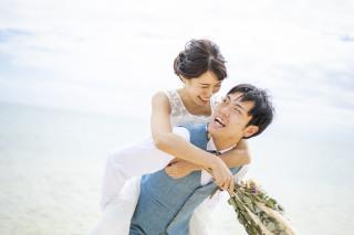 261074_沖縄_キラキラ輝く海☆青い空フォトウェディング(沖縄本島)