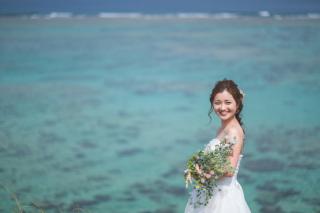 270973_沖縄_キラキラ輝く海☆青い空フォトウェディング(沖縄本島)