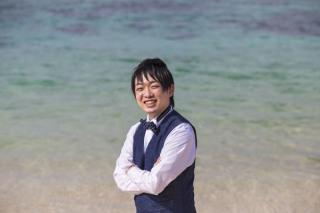 252999_沖縄_キラキラ輝く海☆青い空フォトウェディング2(沖縄本島)