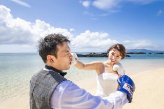 291169_沖縄_キラキラ輝く海☆青い空フォトウェディング(沖縄本島)