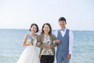 252992_沖縄_キラキラ輝く海☆青い空フォトウェディング(沖縄本島)
