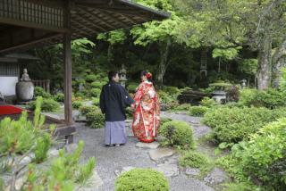 221966_島根_日本庭園ロケーション撮影