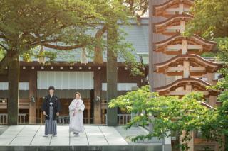 229357_神奈川_和装 神社ロケーション撮影
