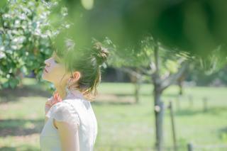229247_神奈川_洋装 公園・庭園ロケーション撮影