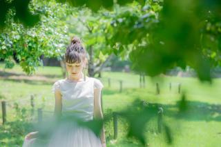 229244_神奈川_洋装 公園・庭園ロケーション撮影