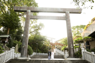 229367_神奈川_和装 神社ロケーション撮影