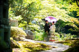 232241_群馬_和装:大人気の日本庭園