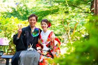 232239_群馬_和装:大人気の日本庭園
