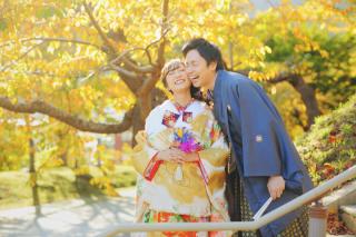 243886_北海道_【紅葉ロケフォト-秋autumn】紅葉×和装でHappy
