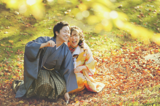 243898_北海道_【紅葉ロケフォト-秋autumn】紅葉×和装でHappy