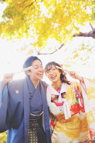 243896_北海道_【紅葉ロケフォト-秋autumn】紅葉×和装でHappy