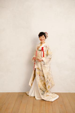 254285_東京_スタジオ撮影、色打ち掛け(白)、白背景