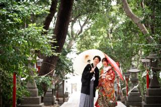 347145_兵庫_神戸*神社/仏閣 × 和装